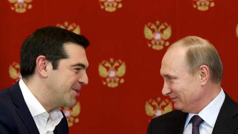 poetin en tsipras