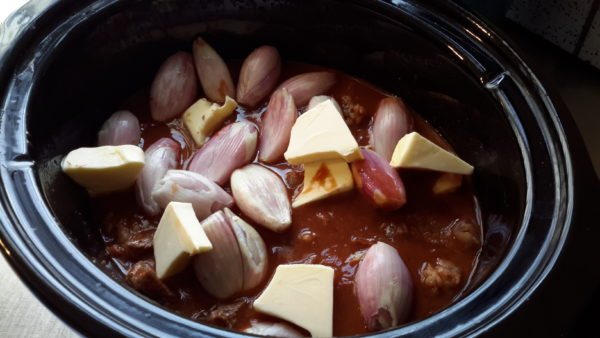 Stifado Slow Cooking