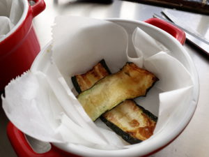 lasagne met wilde spinazie uit de oven