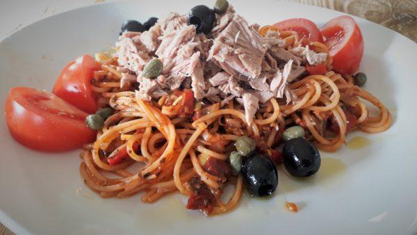 Lunchrecept: Pasta met Tonijn