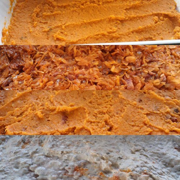Recept: Zuurkool met Zoete Aardappel uit de Oven