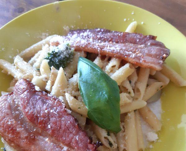 Pasta Pesto Variatie I